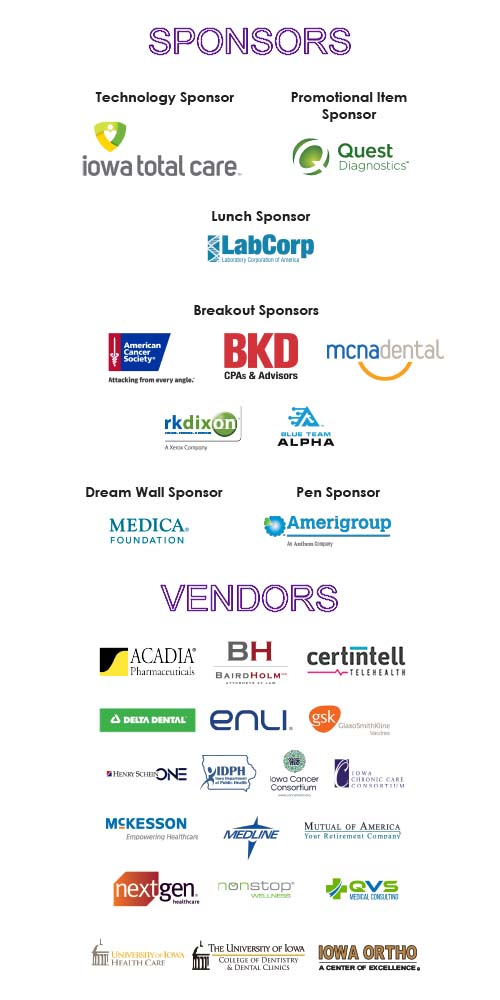 2019 Sponsors and Vendors